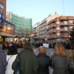 Concentración frente al Ayuntamiento de Alcorcón contra la violencia hacia las mujeres
