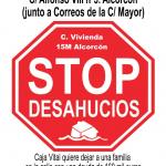 Paralizado el #StopDesahucios miércoles 17 de abril C/ Alfonso VIII